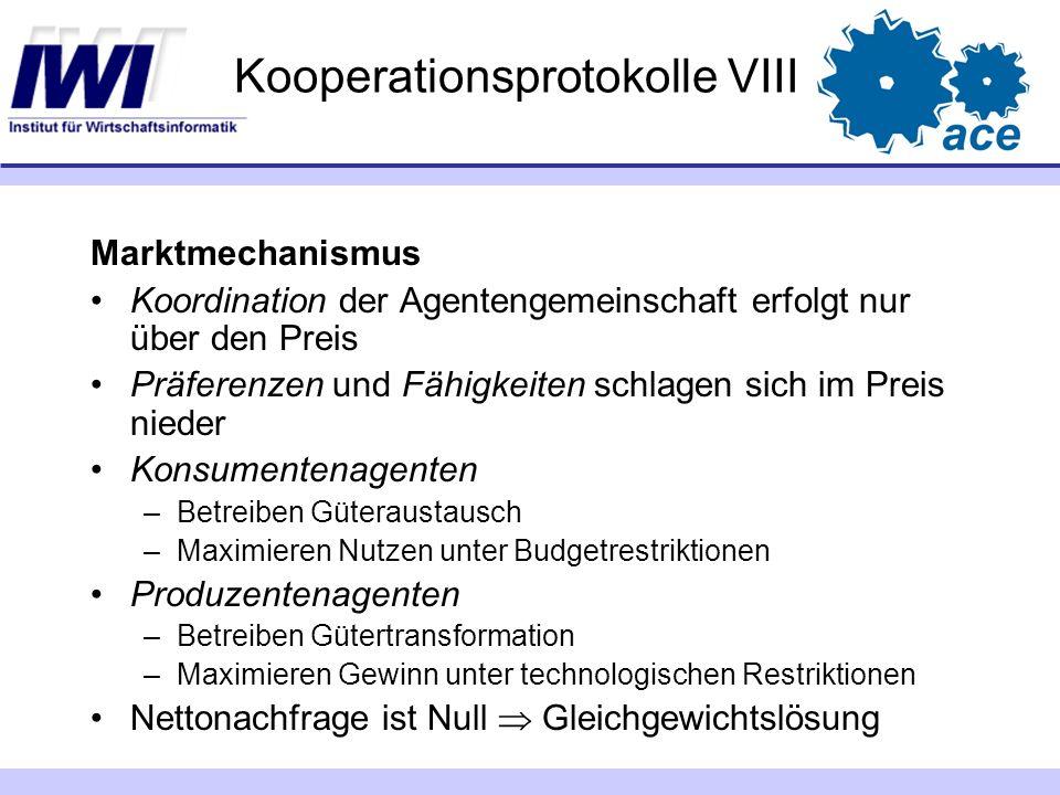 Kooperationsprotokolle VIII