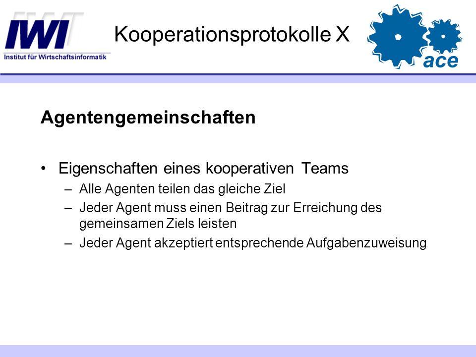 Kooperationsprotokolle X