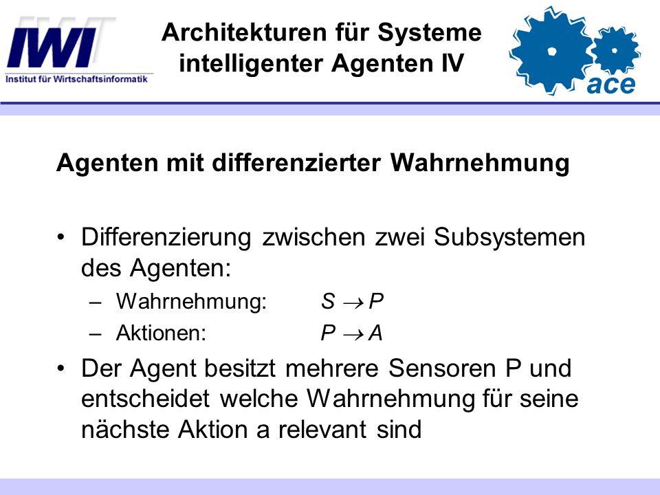 Architekturen für Systeme intelligenter Agenten IV