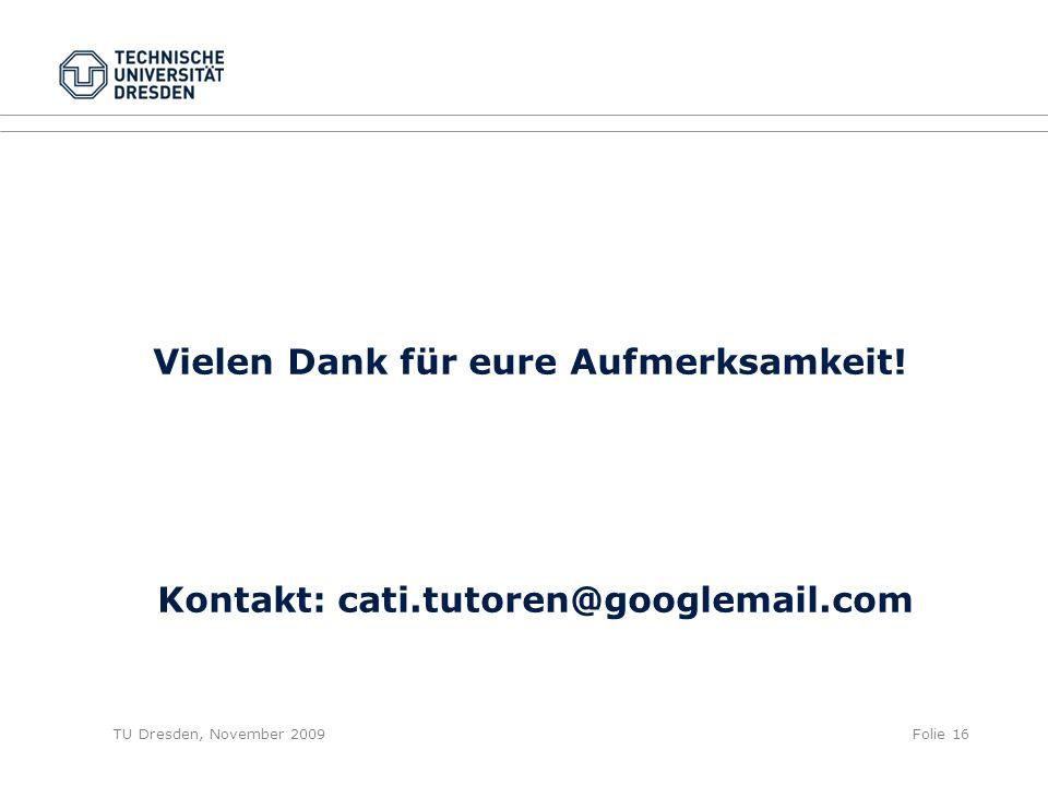 Kontakt: cati.tutoren@googlemail.com