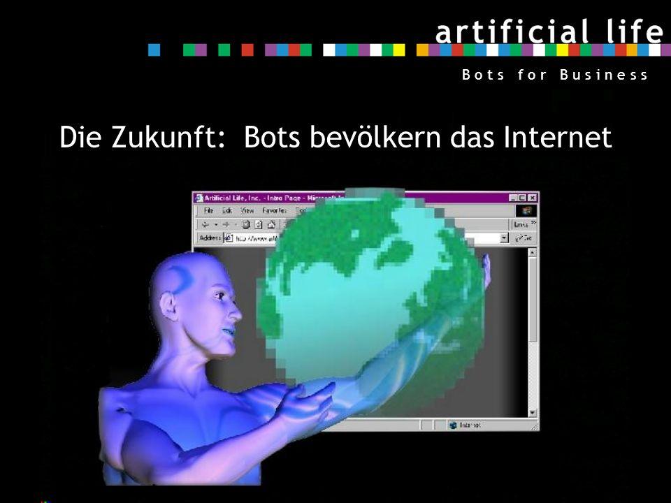 Die Zukunft: Bots bevölkern das Internet