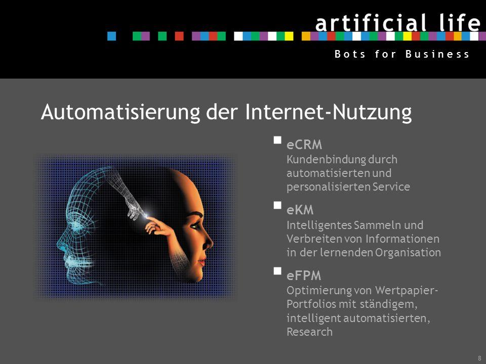 Automatisierung der Internet-Nutzung