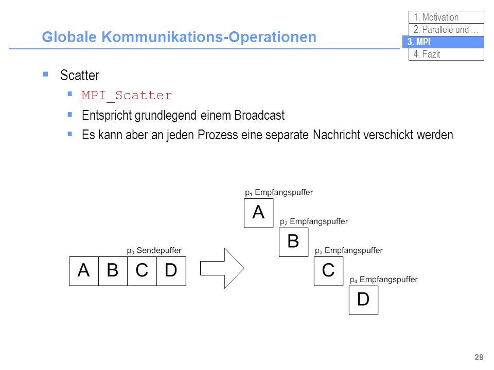 Globale Kommunikations-Operationen