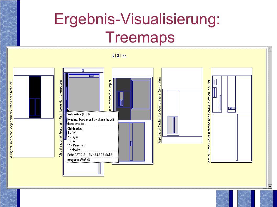 Ergebnis-Visualisierung: Treemaps