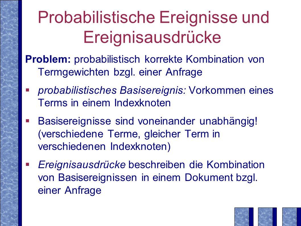 Probabilistische Ereignisse und Ereignisausdrücke
