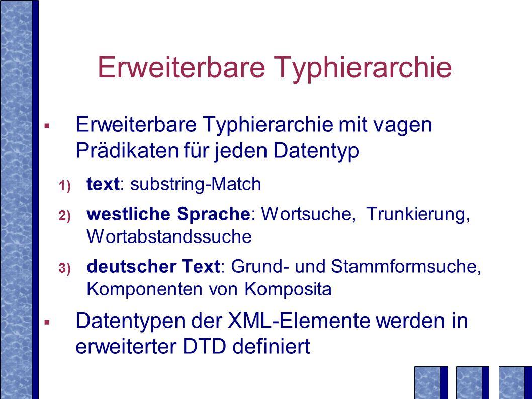 Erweiterbare Typhierarchie