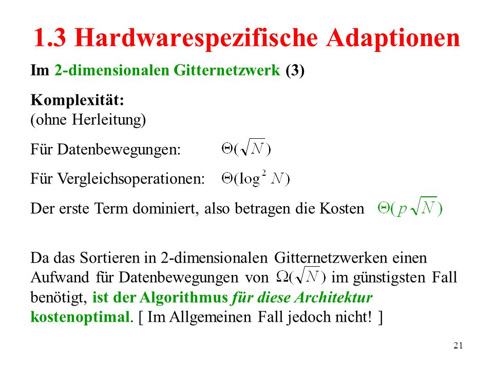 1.3 Hardwarespezifische Adaptionen
