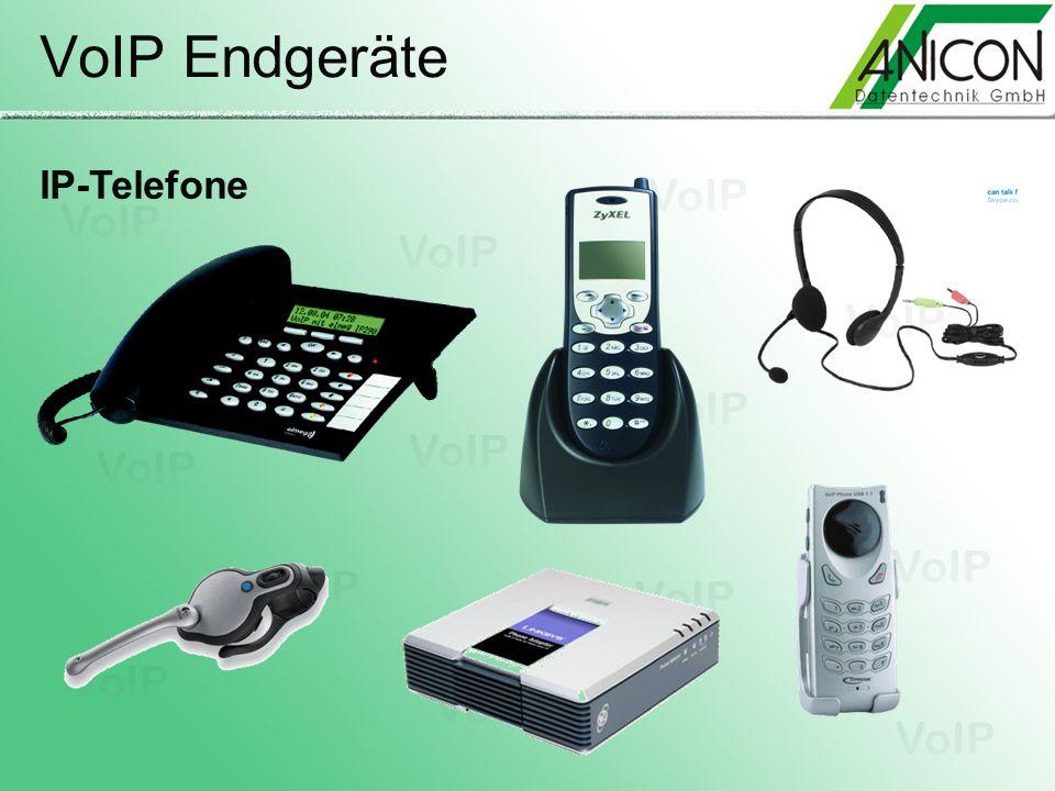 VoIP Endgeräte IP-Telefone
