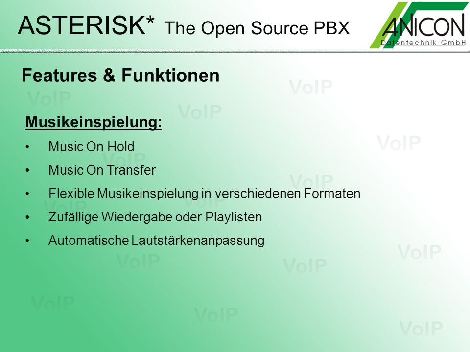ASTERISK* The Open Source PBX