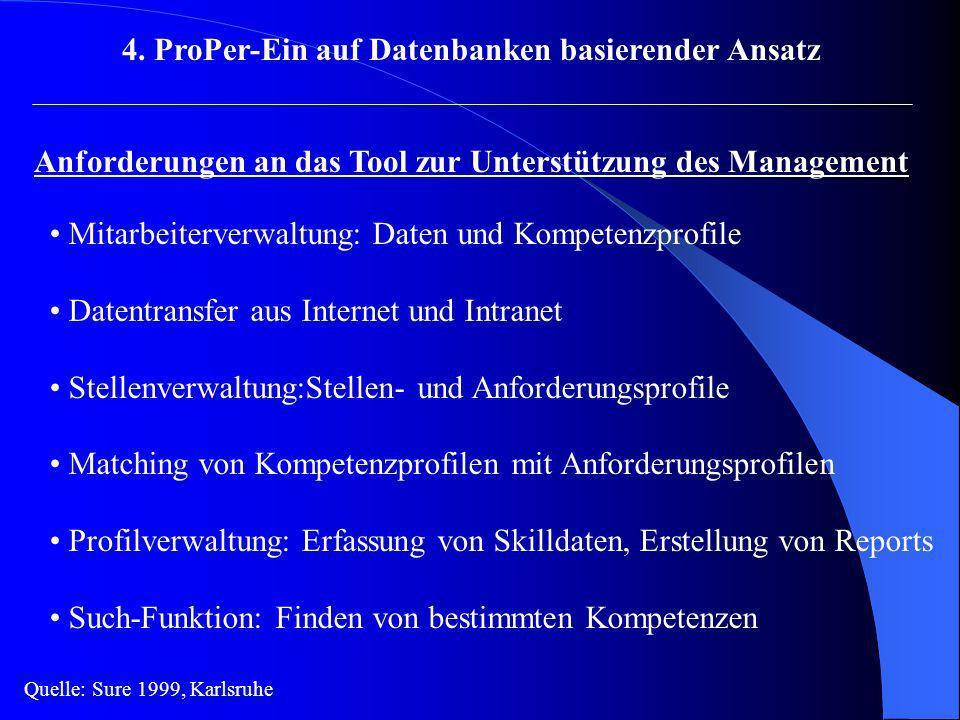 4. ProPer-Ein auf Datenbanken basierender Ansatz