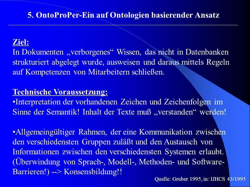 5. OntoProPer-Ein auf Ontologien basierender Ansatz