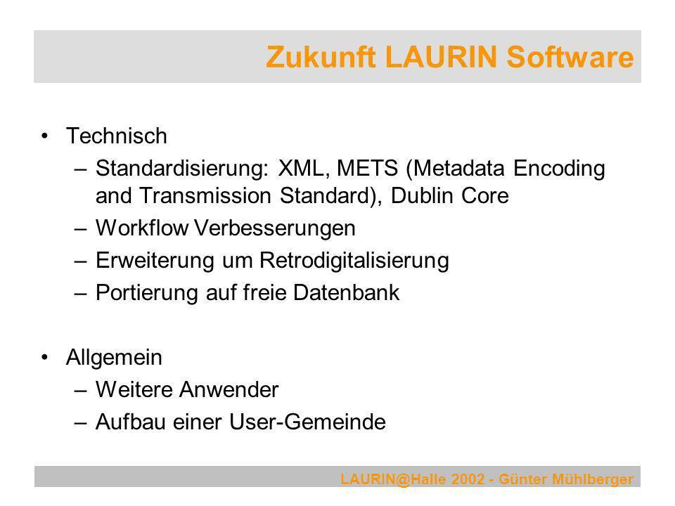 Zukunft LAURIN Software