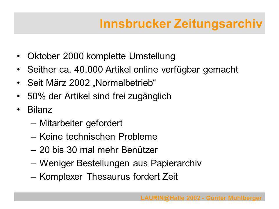 Innsbrucker Zeitungsarchiv