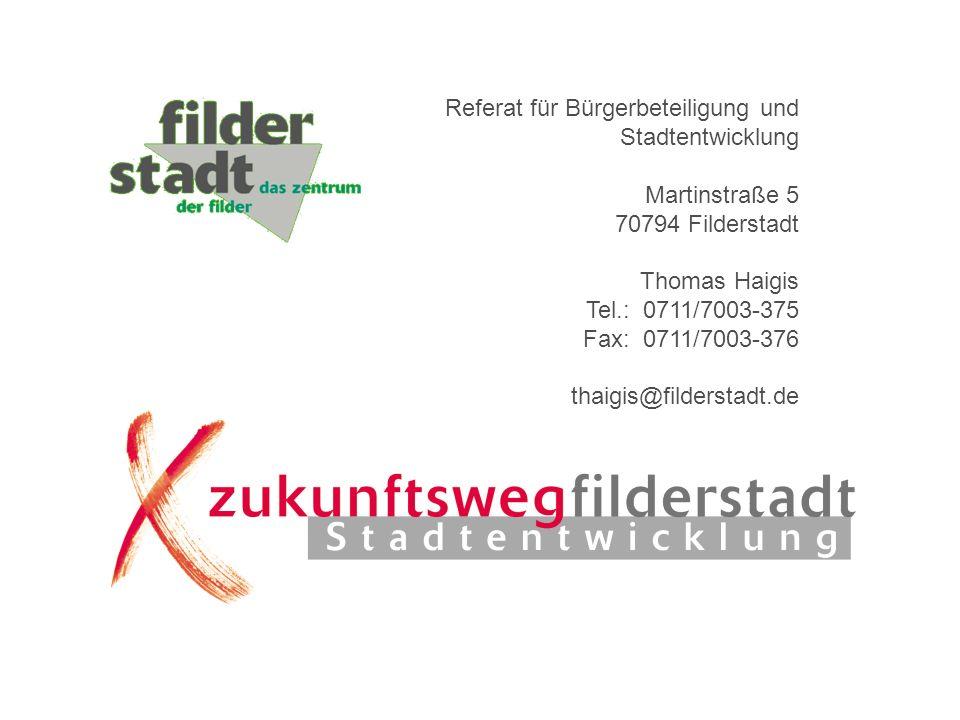 Referat für Bürgerbeteiligung und Stadtentwicklung