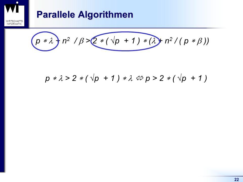 Parallele Algorithmen
