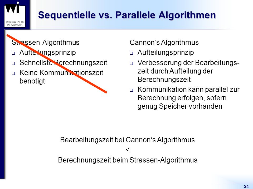 Sequentielle vs. Parallele Algorithmen