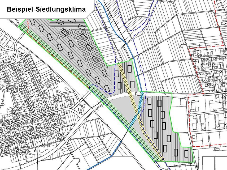 Beispiel Siedlungsklima
