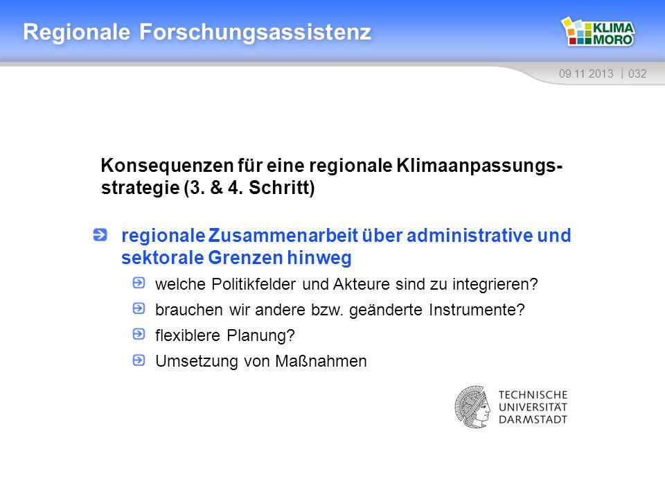 Regionale Forschungsassistenz