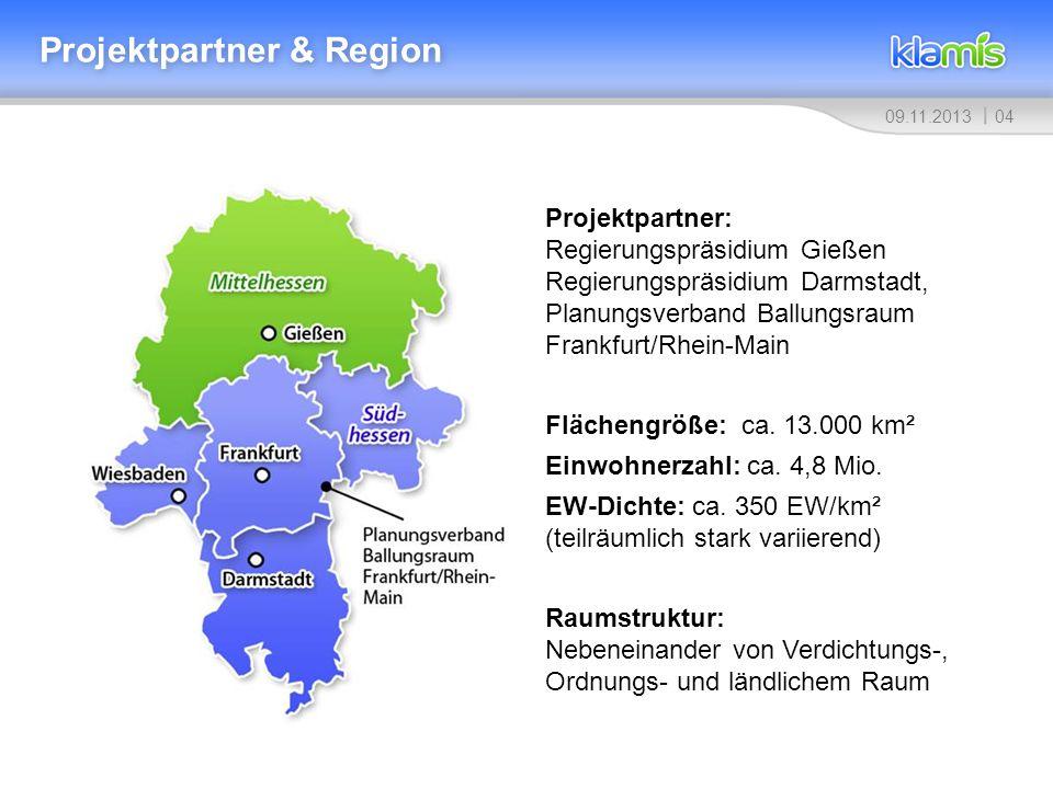 Projektpartner & Region