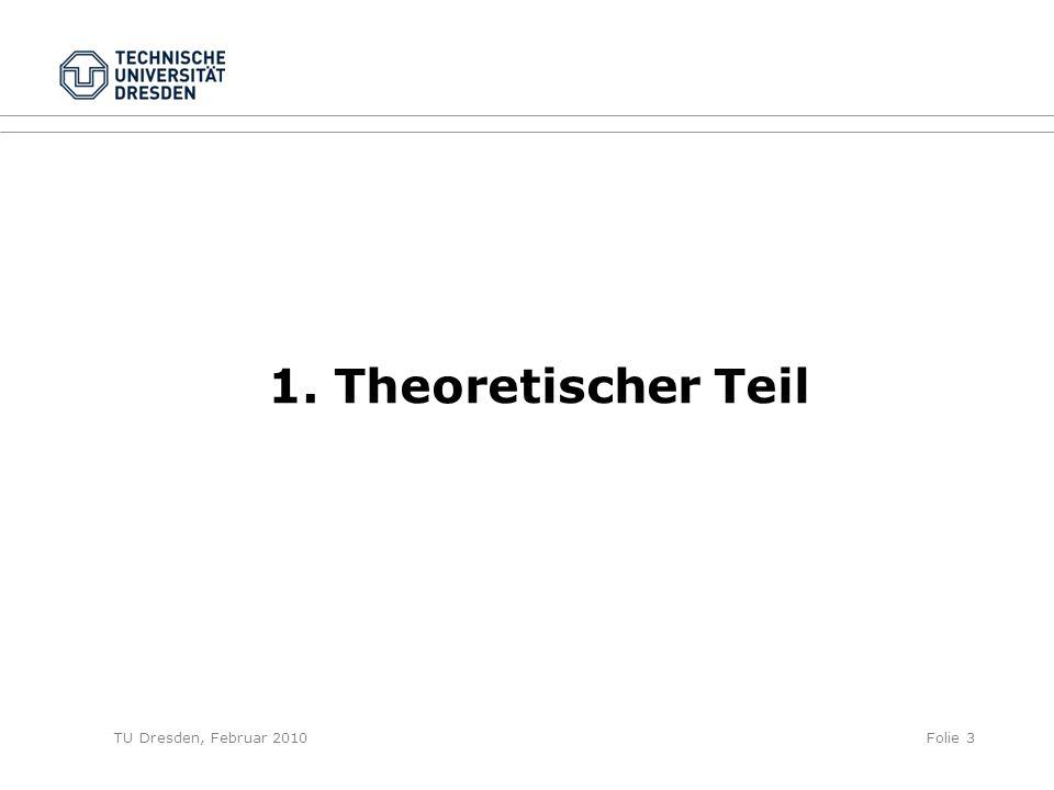 1. Theoretischer Teil