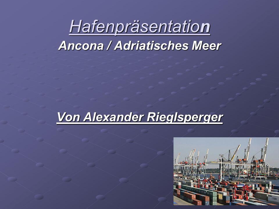 Ancona / Adriatisches Meer Von Alexander Rieglsperger