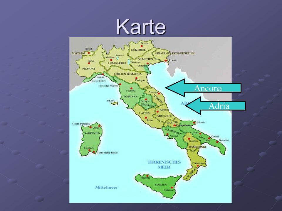 Karte Ancona Adria