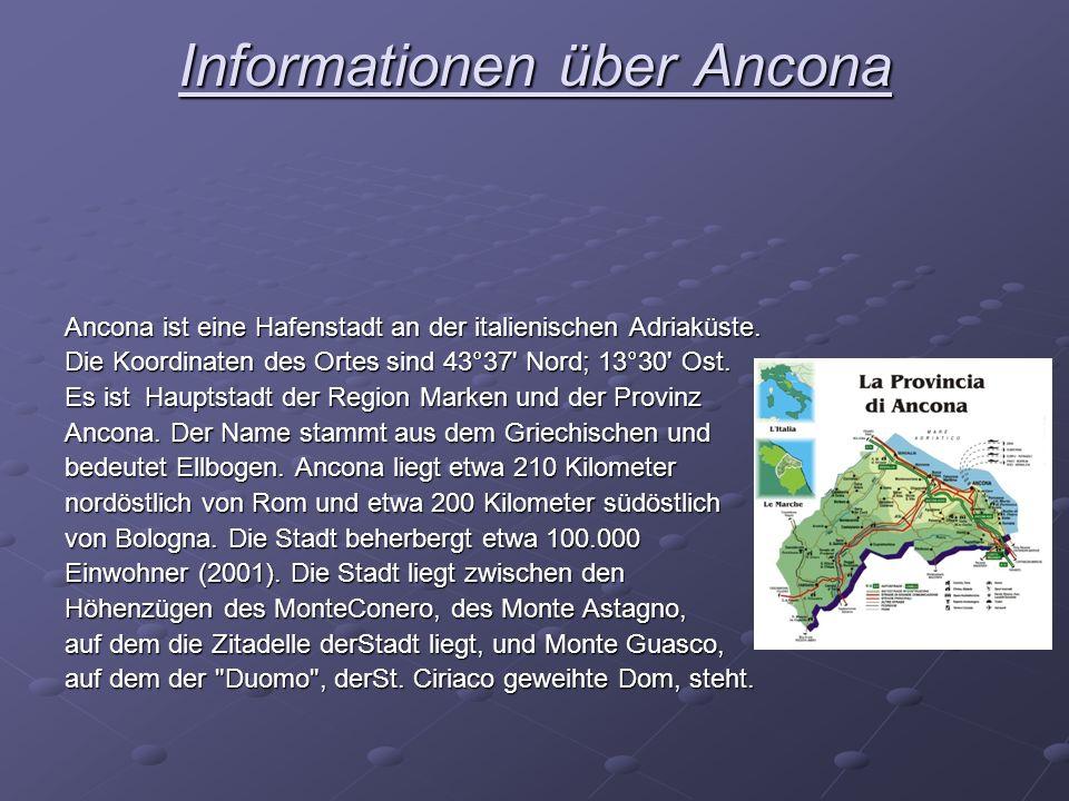 Informationen über Ancona