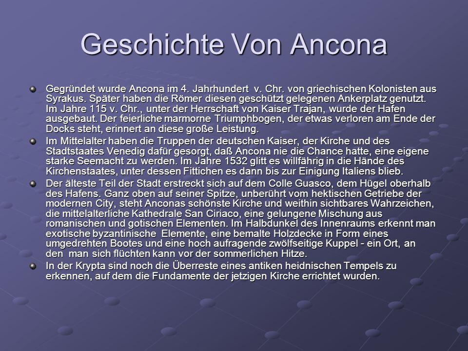 Geschichte Von Ancona