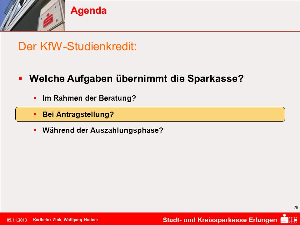 Der KfW-Studienkredit: