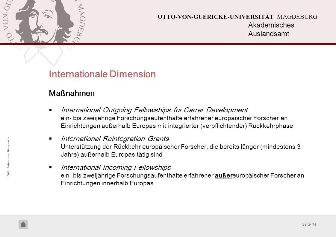 Internationale Dimension