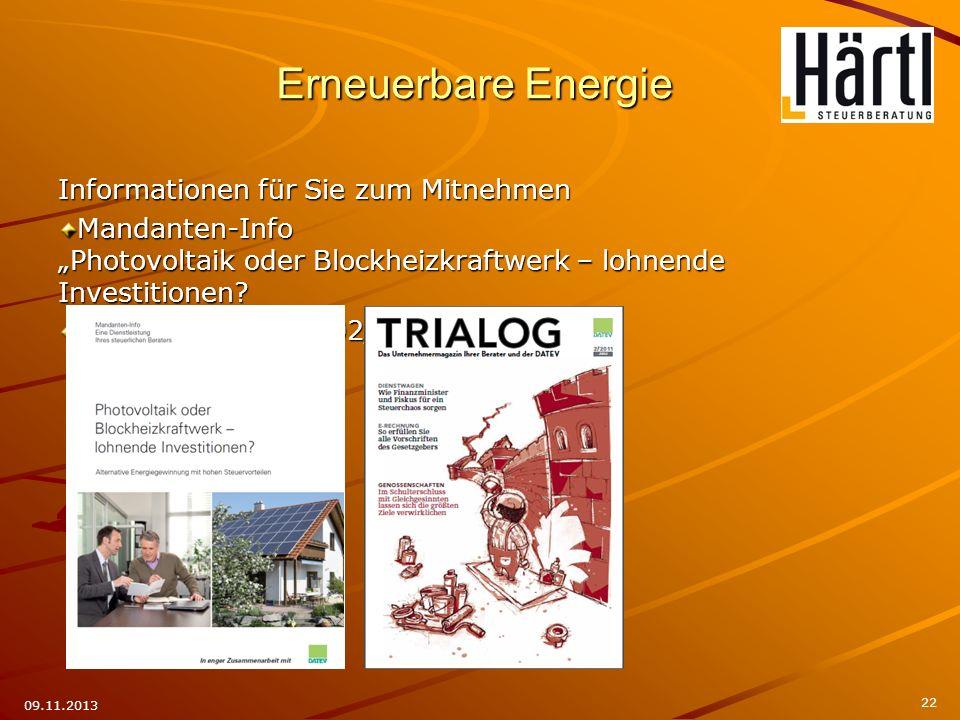 Photovoltaik oder Blockheizkraftwerk – lohnende Investitionen