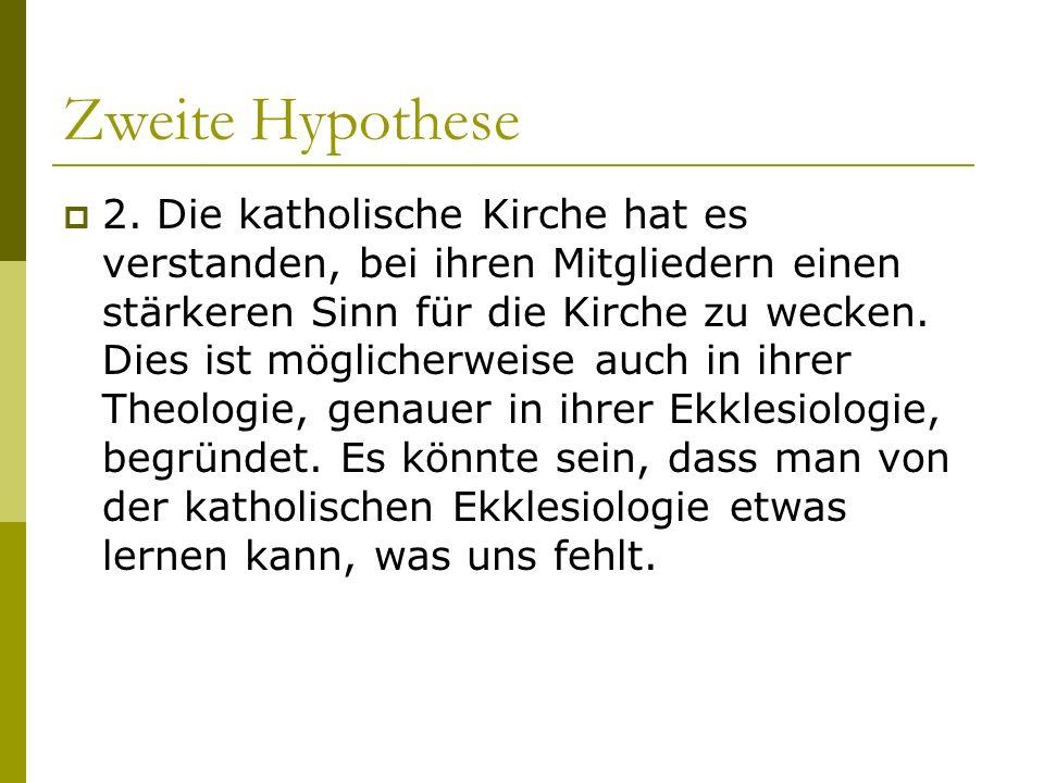 Zweite Hypothese