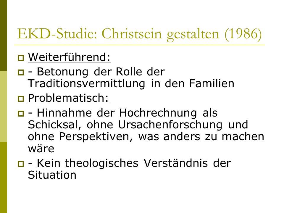EKD-Studie: Christsein gestalten (1986)
