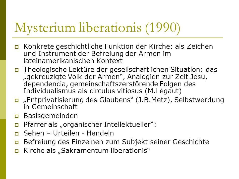 Mysterium liberationis (1990)