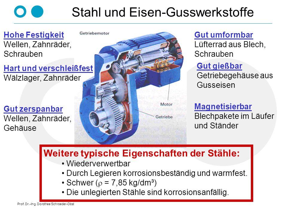 Stahl und Eisen-Gusswerkstoffe