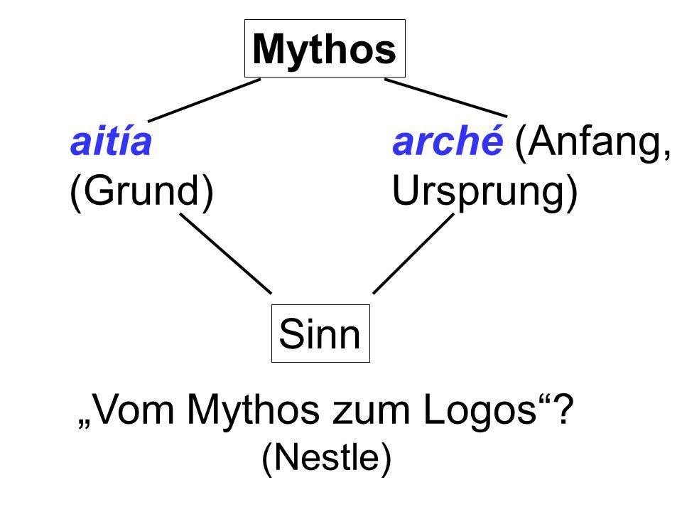 """""""Vom Mythos zum Logos (Nestle)"""