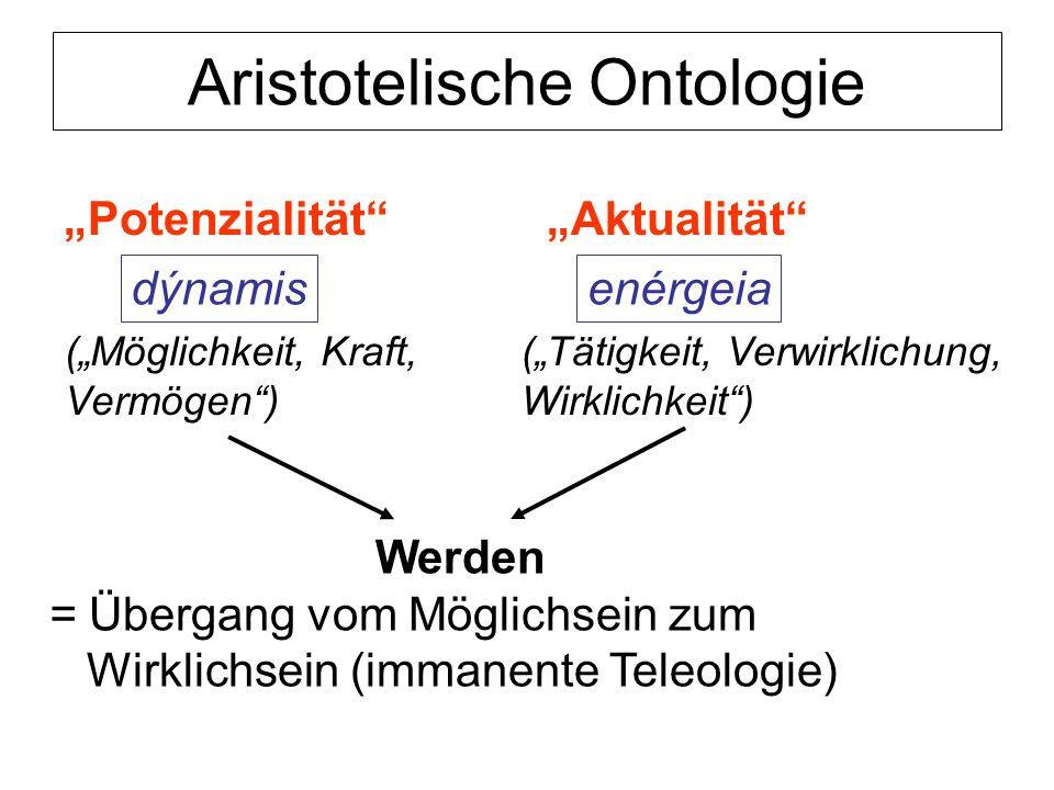 Aristotelische Ontologie
