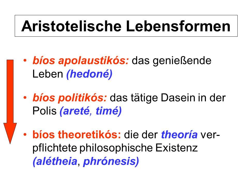 Aristotelische Lebensformen