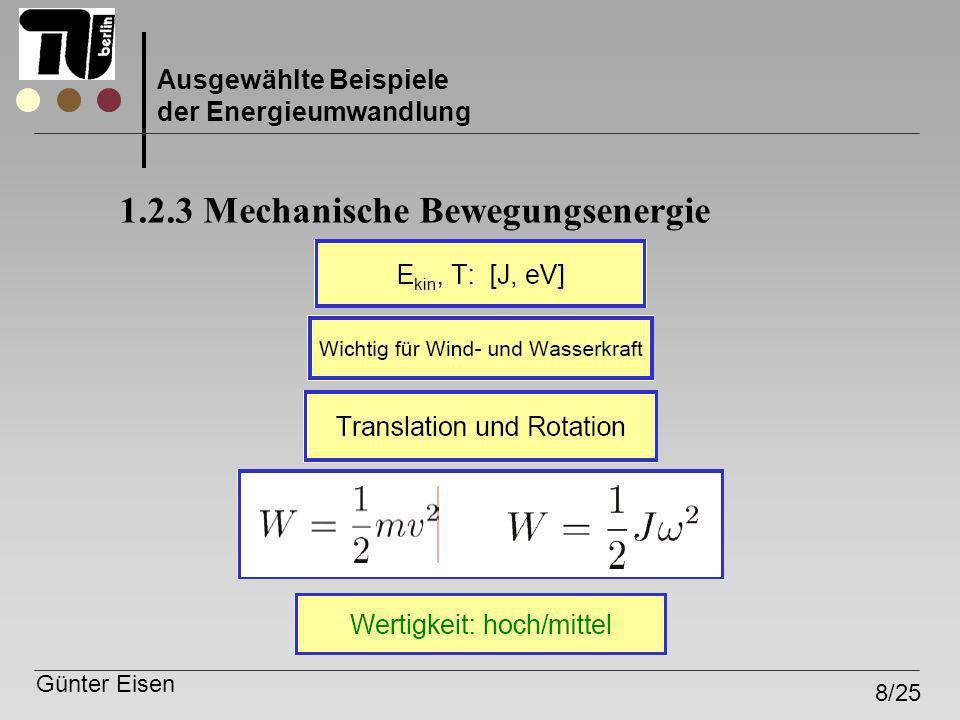 1.2.3 Mechanische Bewegungsenergie