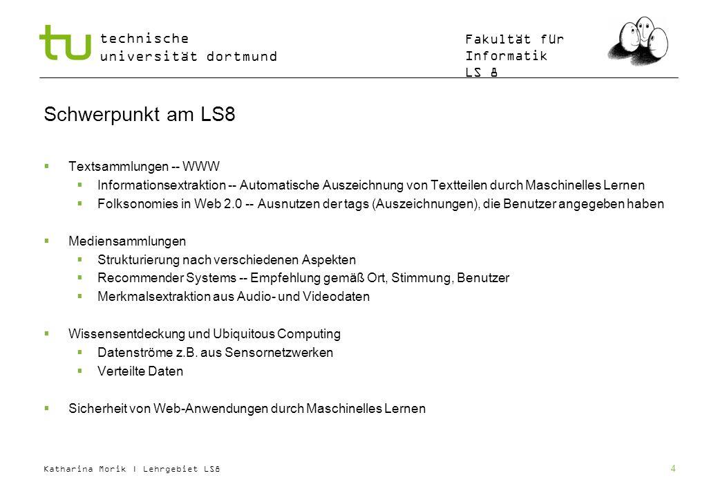 Schwerpunkt am LS8 Textsammlungen -- WWW