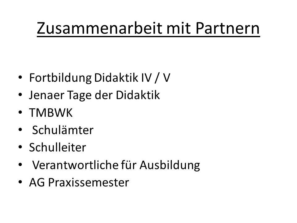 Zusammenarbeit mit Partnern