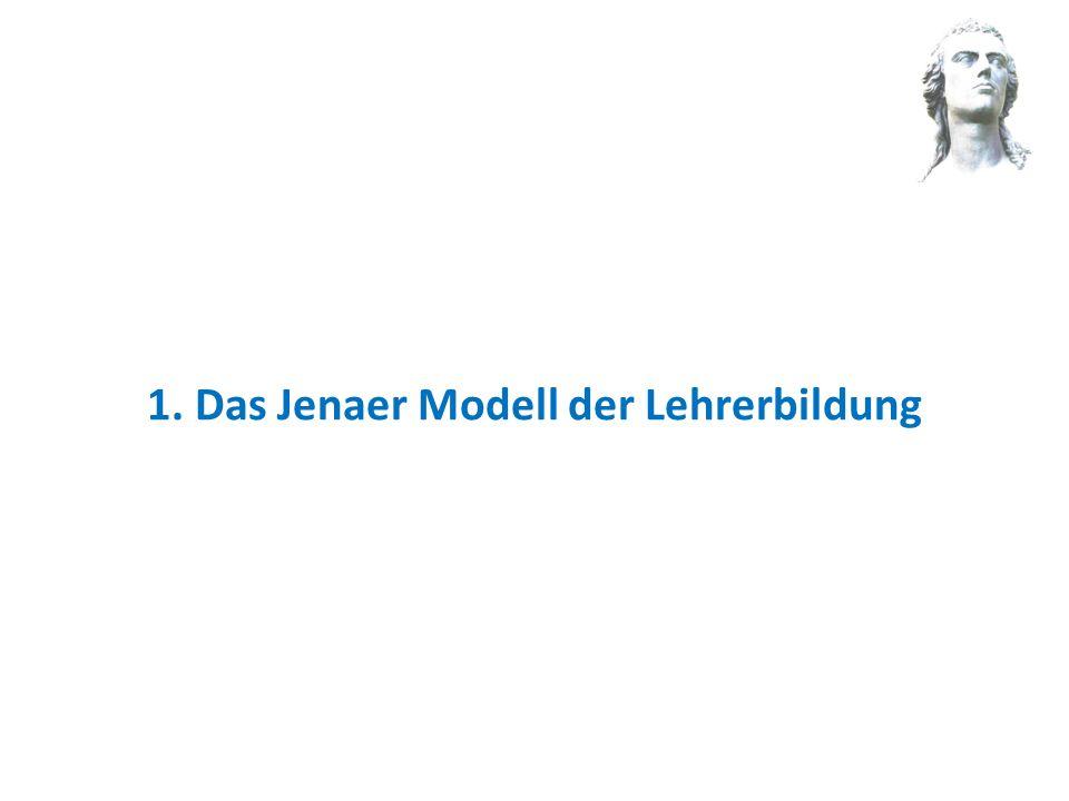 1. Das Jenaer Modell der Lehrerbildung