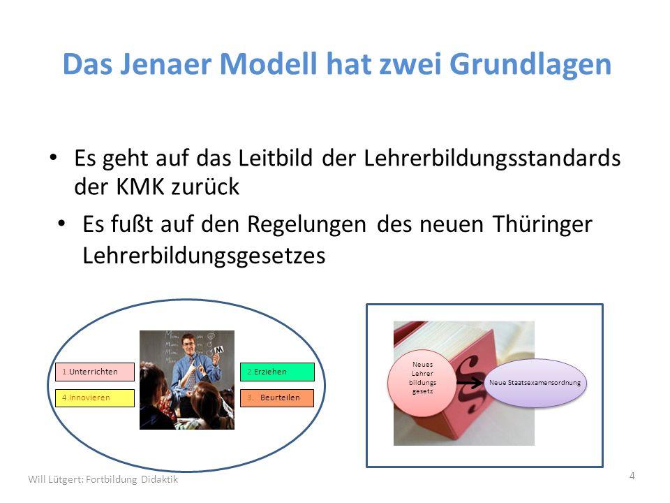 Das Jenaer Modell hat zwei Grundlagen