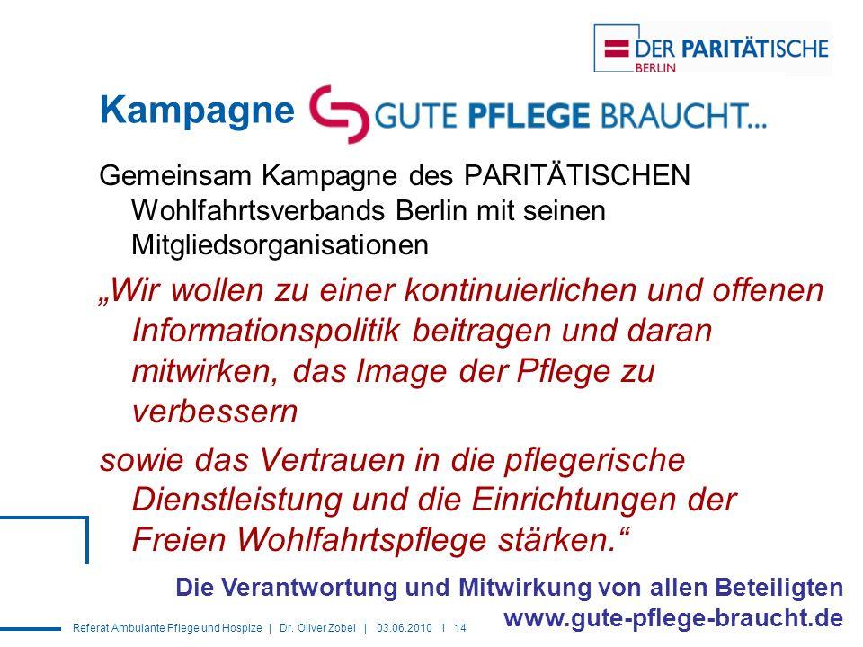 Kampagne Gemeinsam Kampagne des PARITÄTISCHEN Wohlfahrtsverbands Berlin mit seinen Mitgliedsorganisationen.