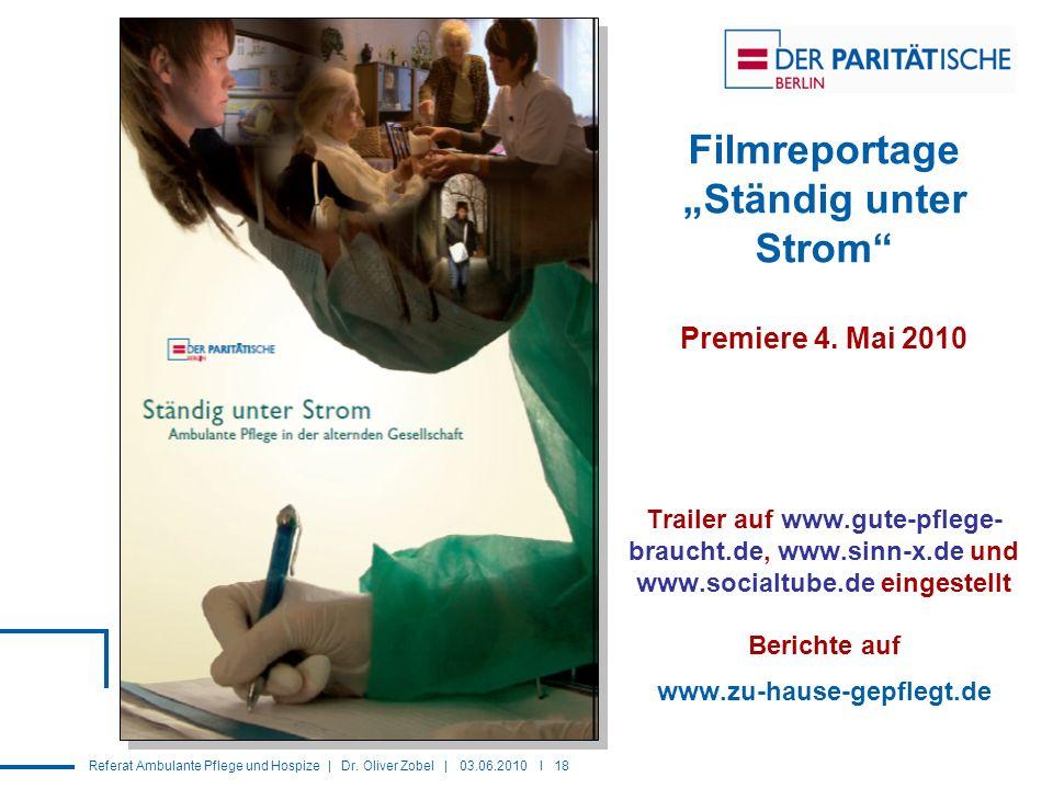 """Filmreportage """"Ständig unter Strom Premiere 4"""