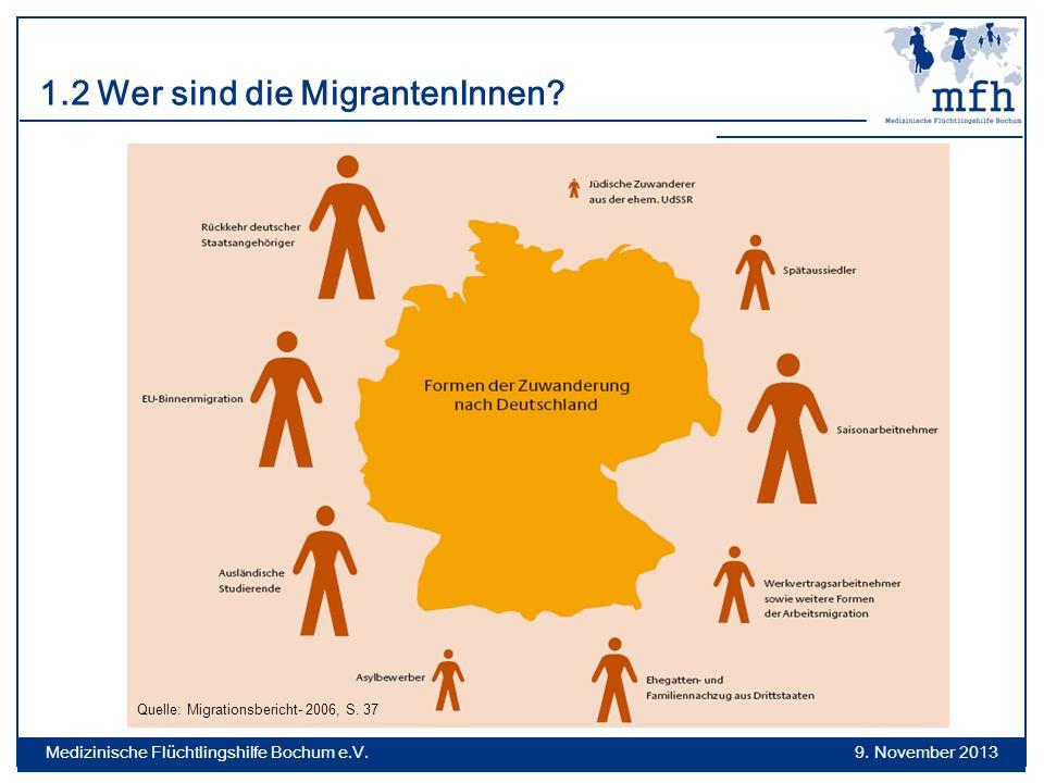 1.2 Wer sind die MigrantenInnen