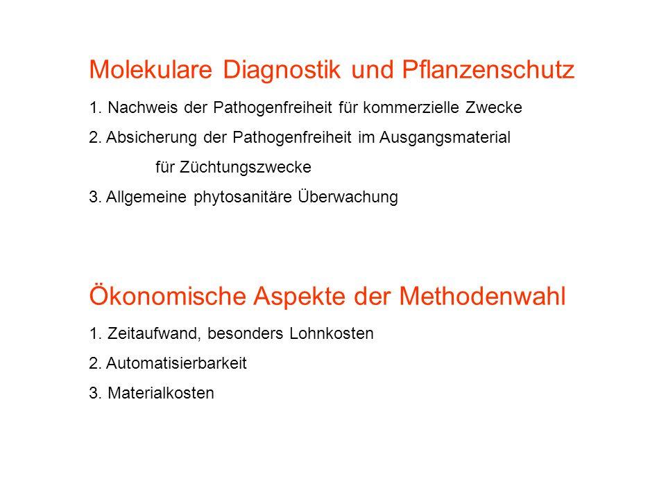 Molekulare Diagnostik und Pflanzenschutz