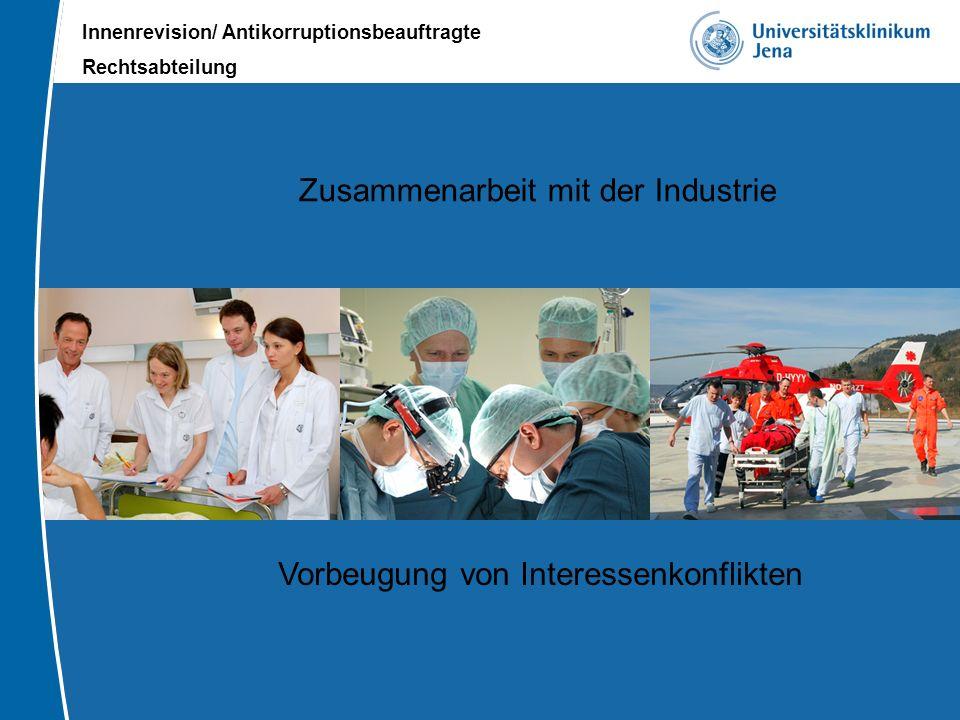 Zusammenarbeit mit der Industrie