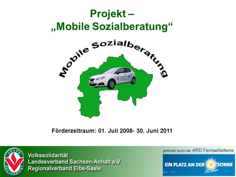 """Projekt – """"Mobile Sozialberatung"""