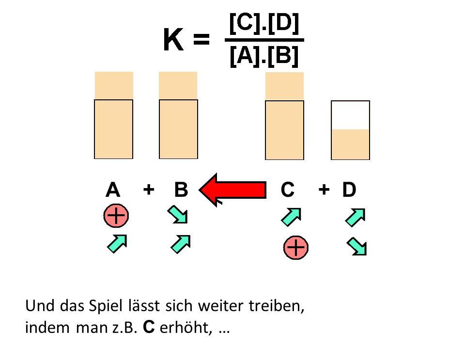 A + B C + D Und das Spiel lässt sich weiter treiben, indem man z.B.
